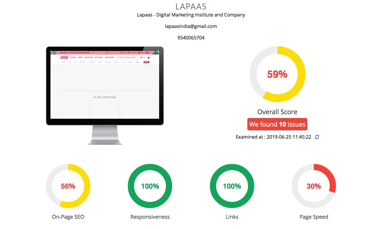 lapaas-free-seo-audit