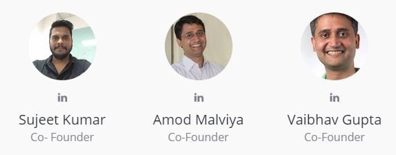 co founders of udaan.com