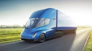 TEsla Case Study Semi Truck Image