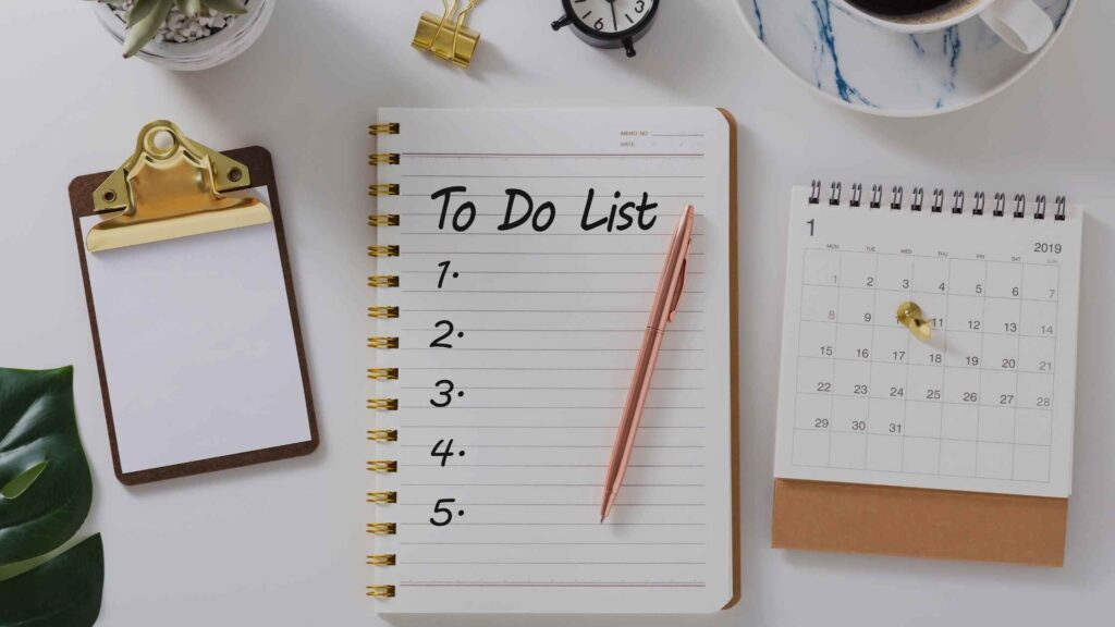 To-Do Lists -The Key to Efficiency