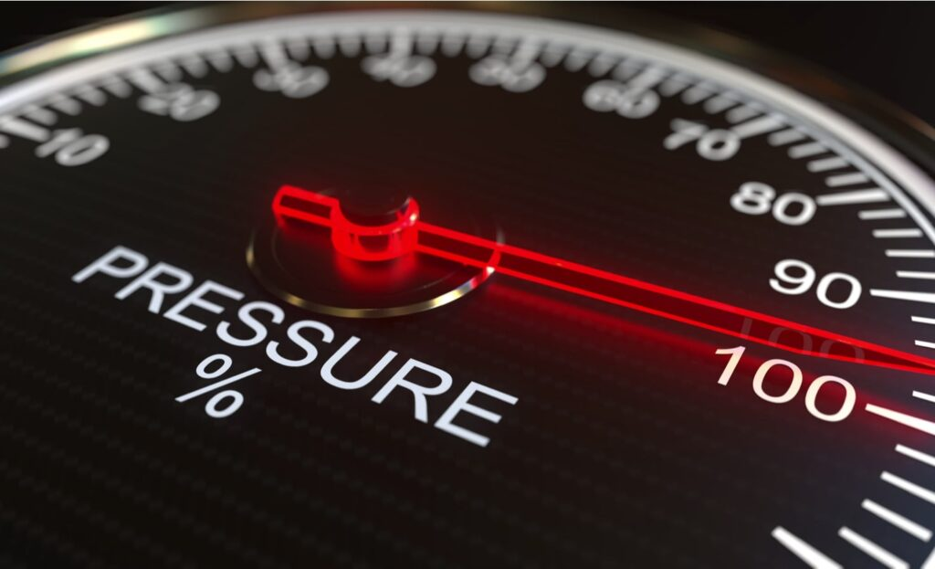 performance and pressure