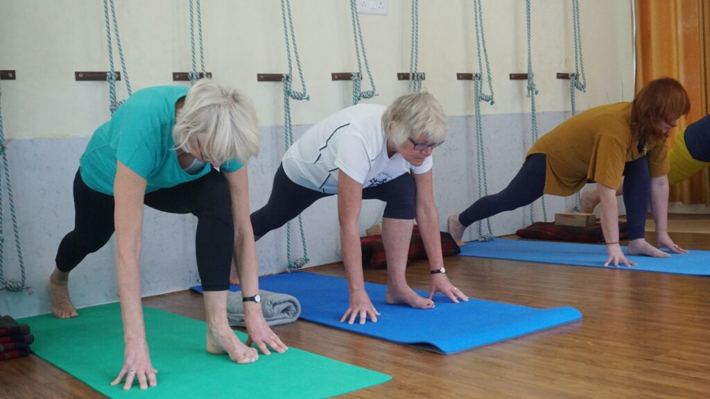image of people doing exercise